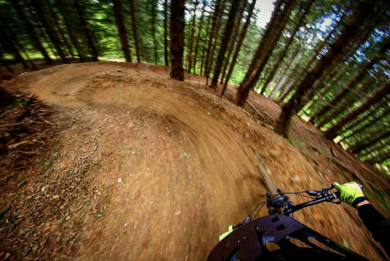 mountain biking Morzine