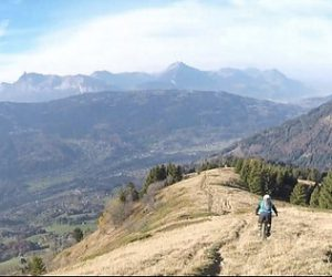 Best Place to go Mountain Biking: French Alps