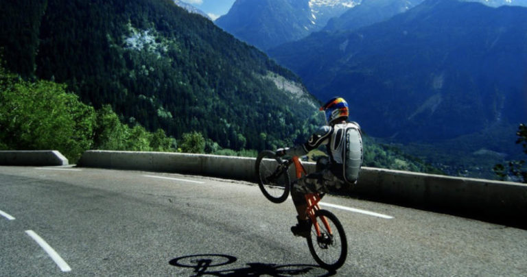 best place to go mountain biking in the French alps