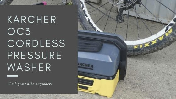 Karcher OC3 Cordless Pressure Washer - cover