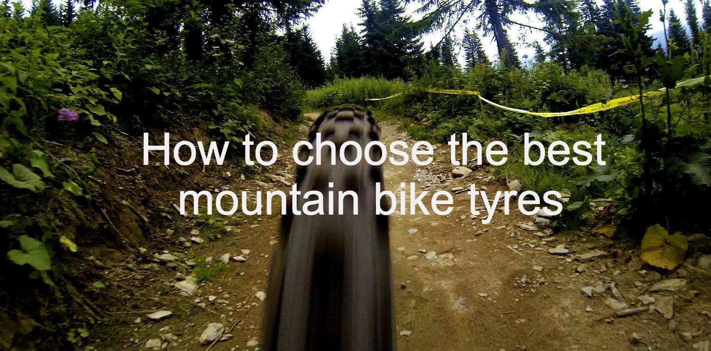 best mountain bike tyres