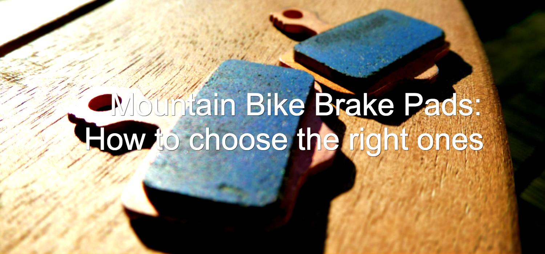 mountain bike brake pads