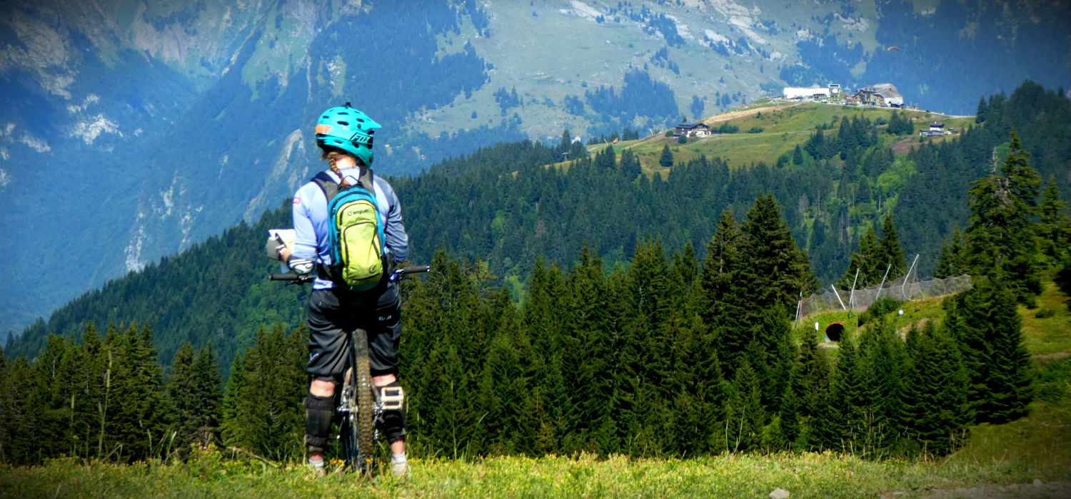 mountain biking samoëns