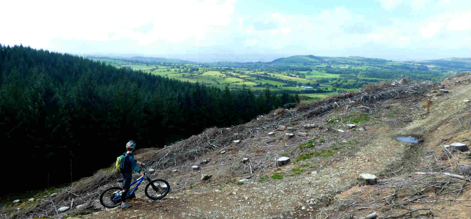 mountain bike north Wales