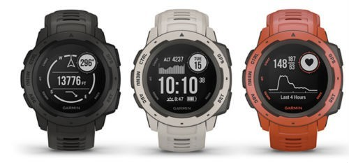 Garmin Instinct GPS Watch: Cheapest Garmin Outdoor Sports Watch