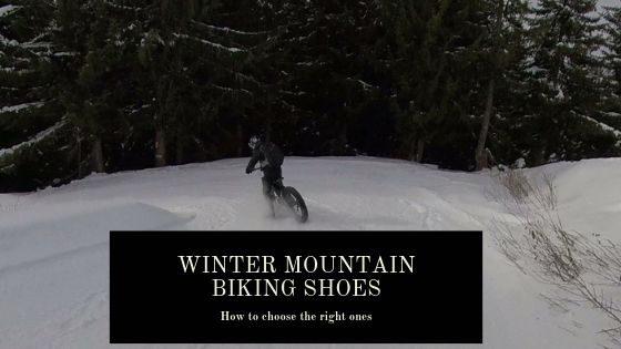 winter mountain biking shoes