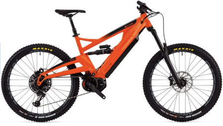 2020 Orange surge Electric Mountain Bikes