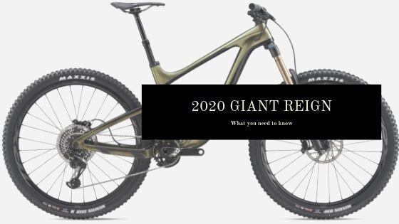 2020 Giant Reign: Everything you need to know