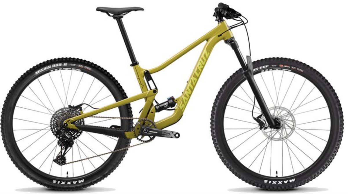 2020 Santa Cruz mountain bikes
