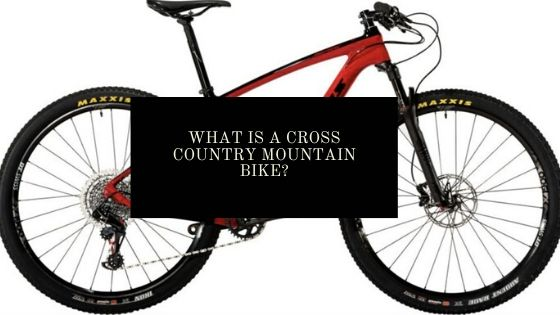 cross country mountain bike