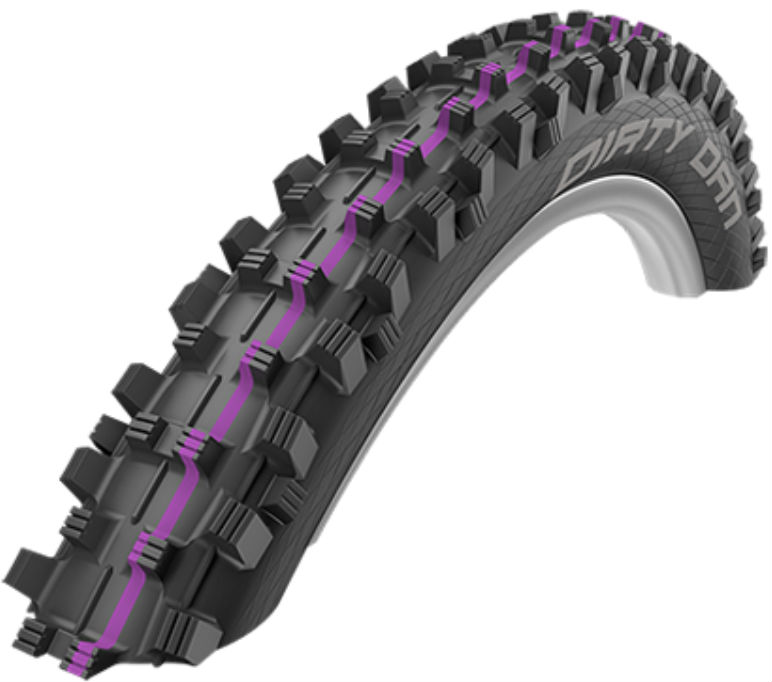Schwalbe Dirty Dan mountain bike tyres