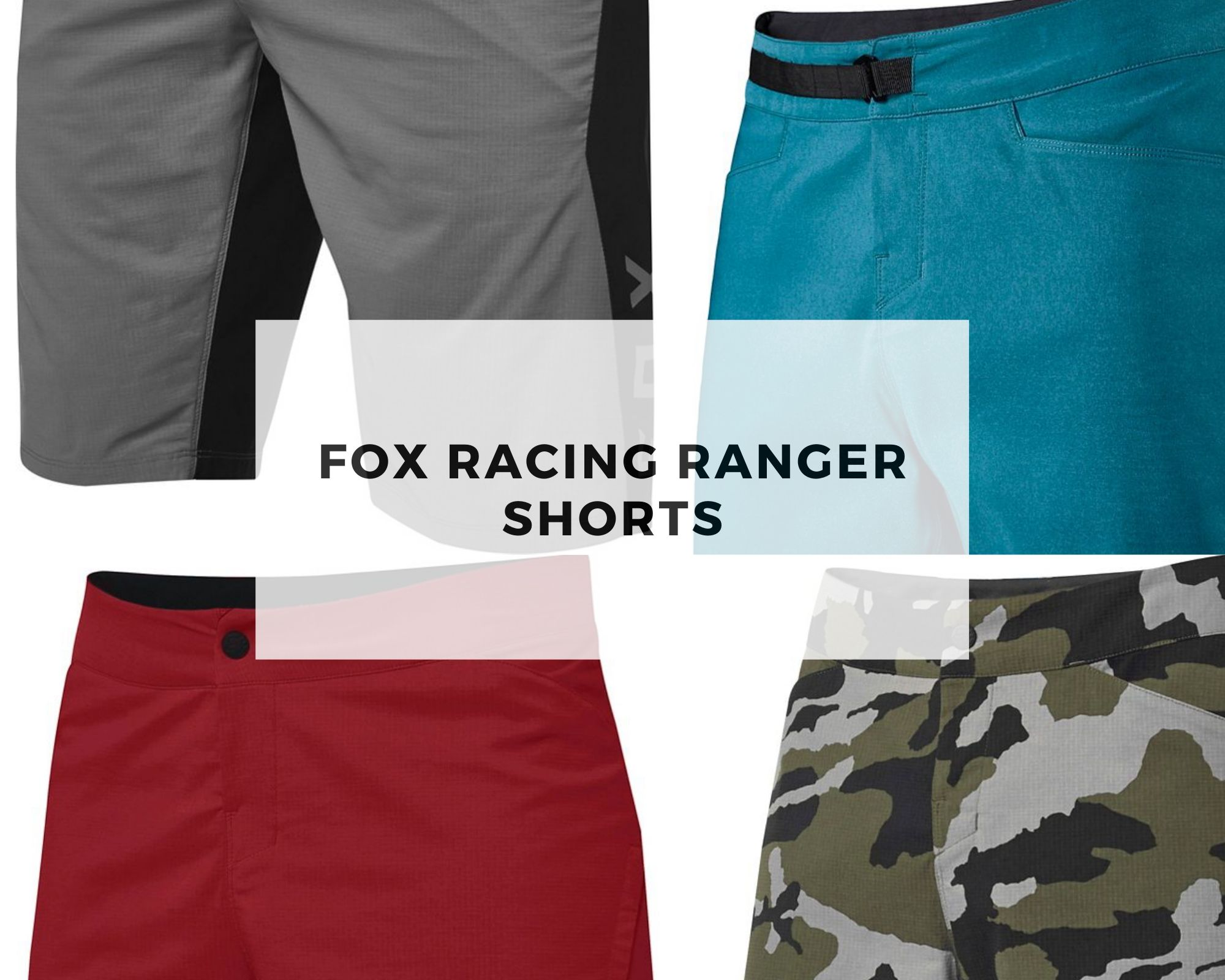 Fox racing shorts - ranger