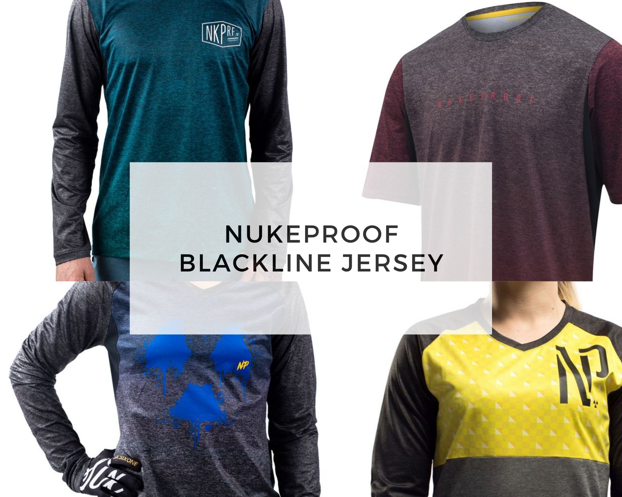 Nukeproof Jersey - blackline cover