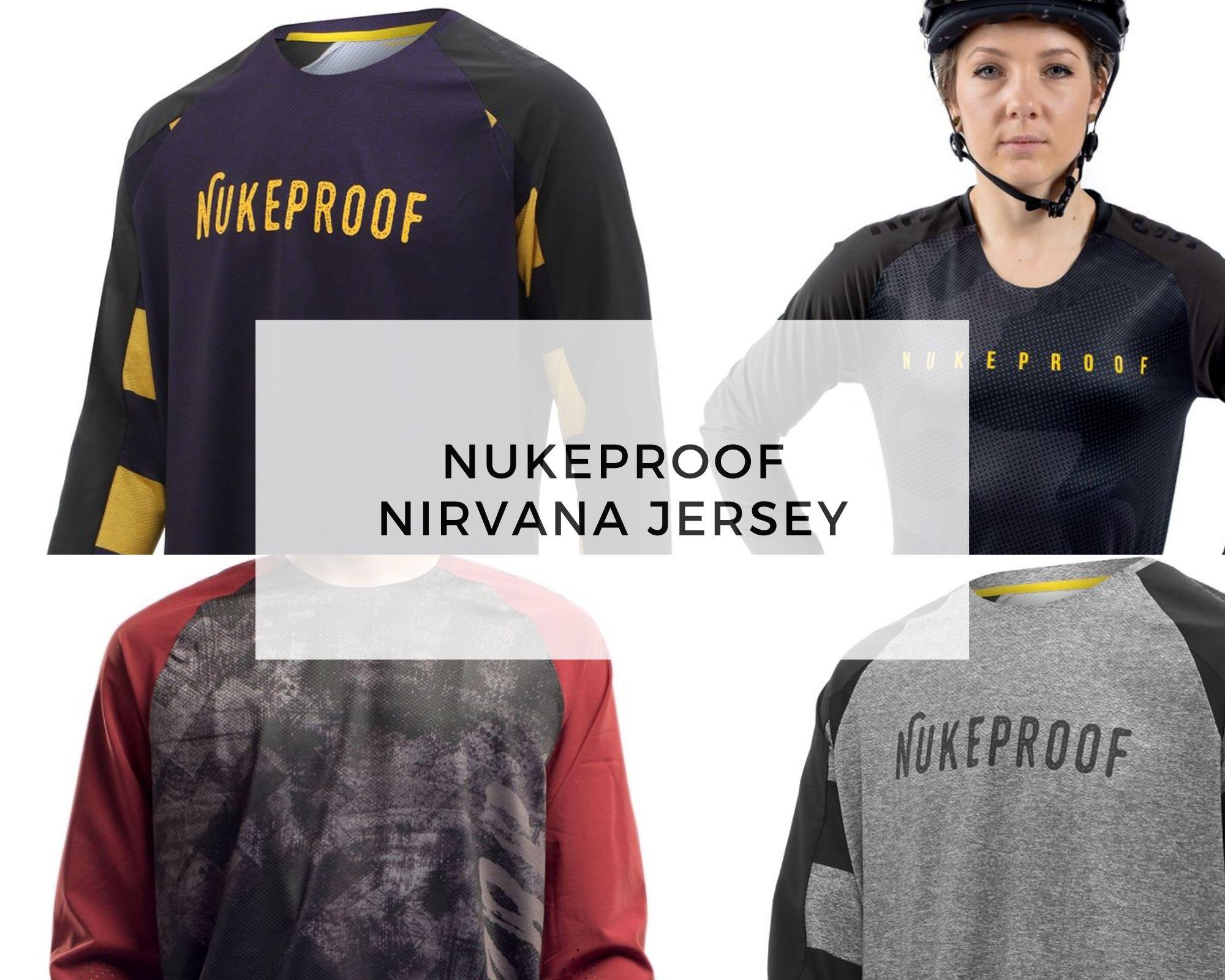 Nukeproof Jersey - nirvana cover