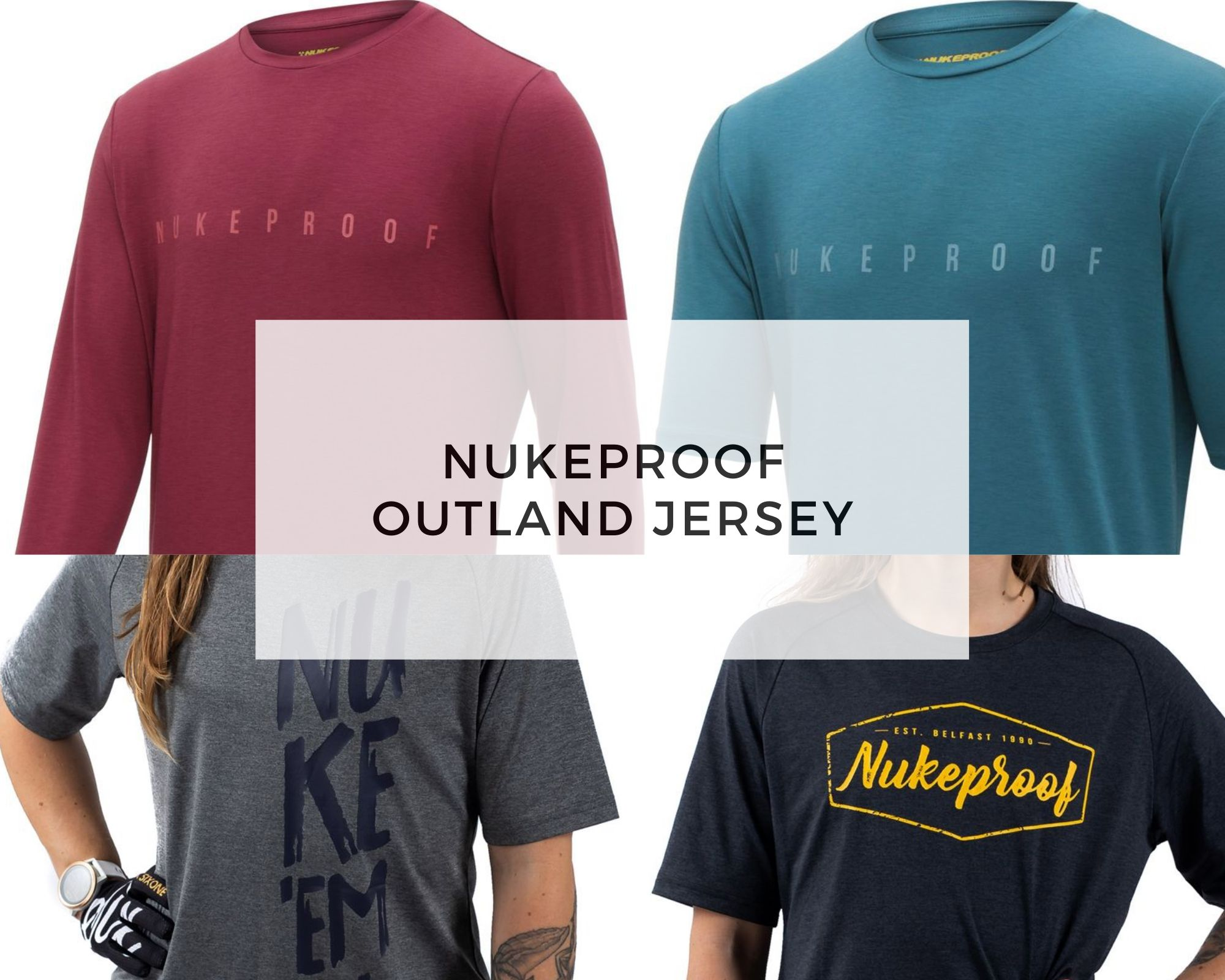 Nukeproof Jersey - outland cover