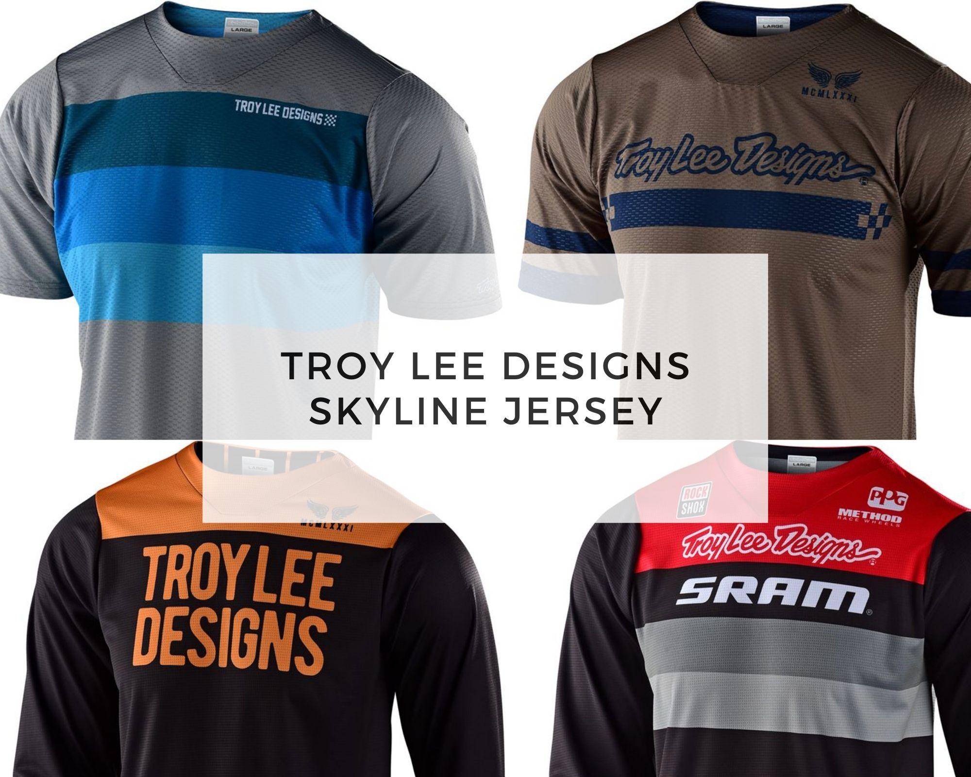 Troy Lee Designs jersey - Skyline jersey cover