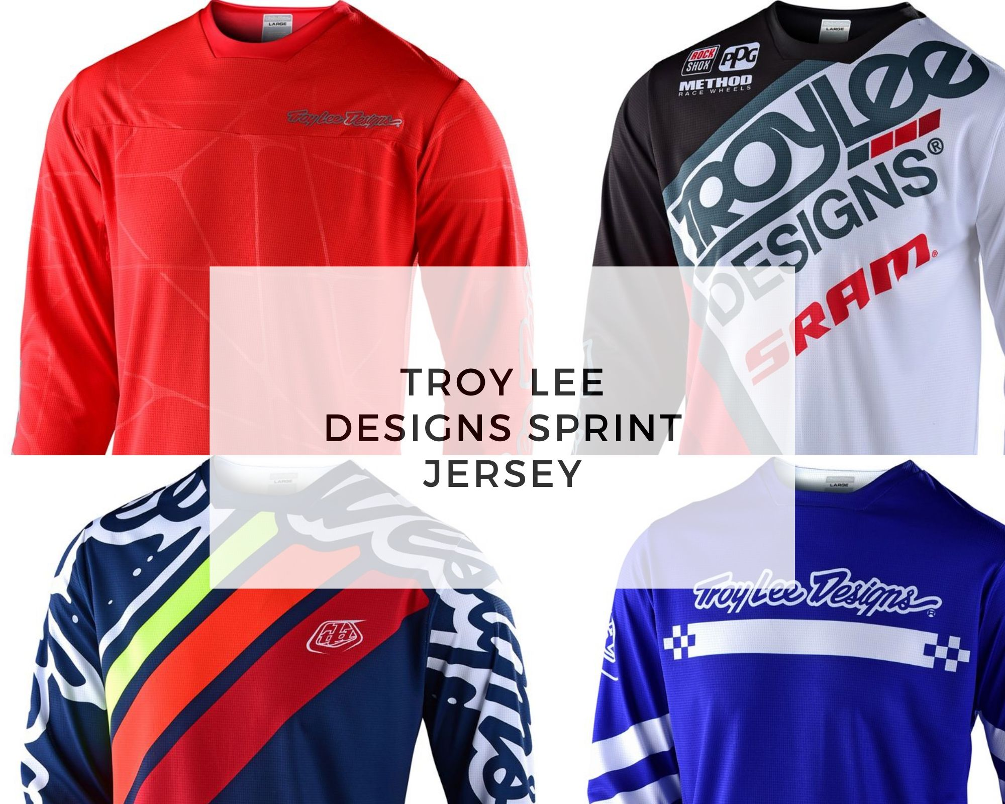 Troy Lee Designs jersey - Sprint cover
