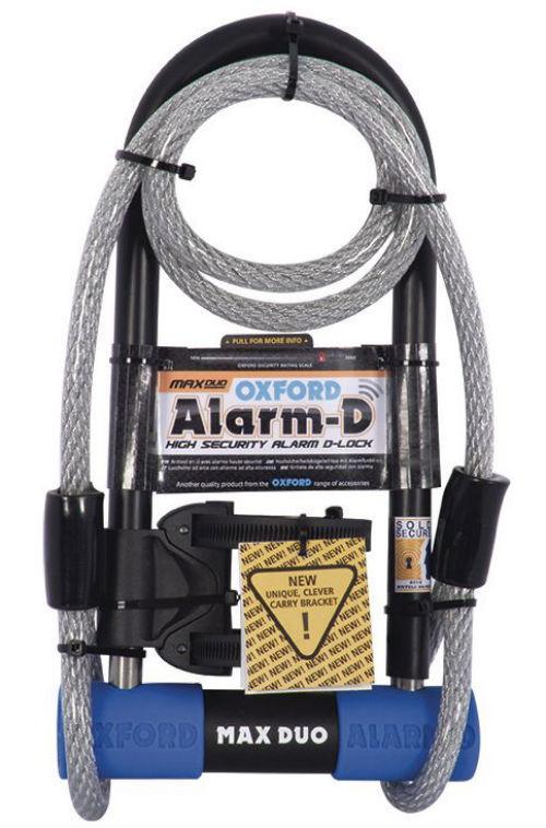 Best Mountain Bike Lock - Oxford alarm duo