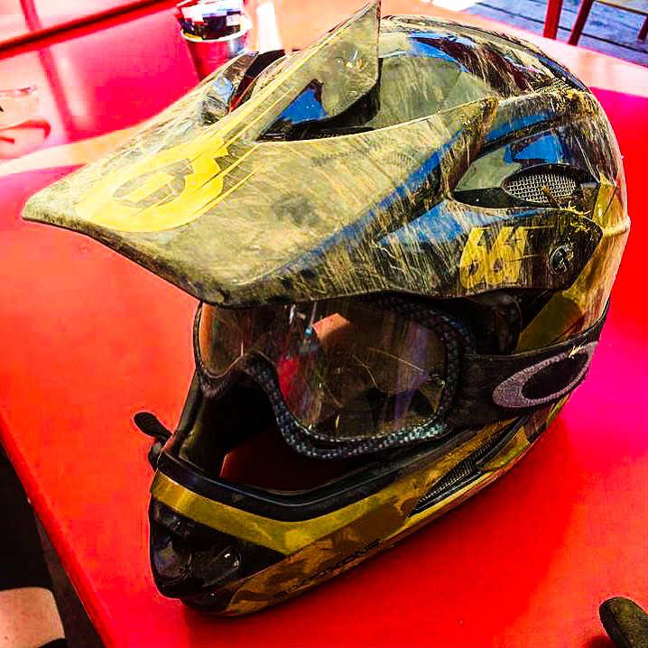 Downhill Mountain Bike Gear - helmet