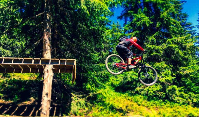 Downhill Mountain Bike Gear - bike