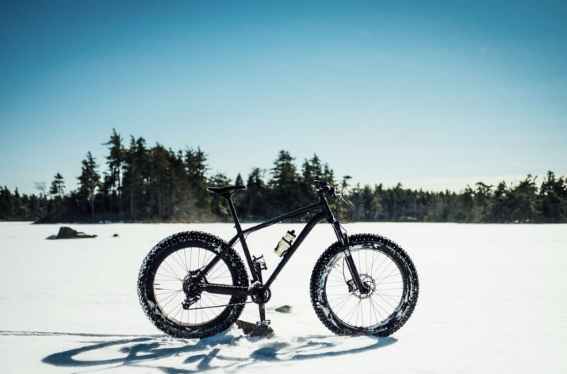 What Is A Fat Bike - snow
