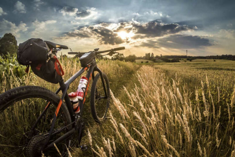 What Is Bike Packing? - field