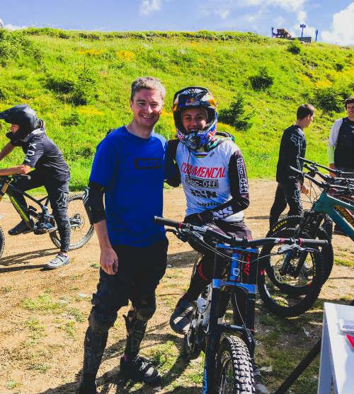 Mountain Biking In Morzine 2020 - Tom and Myriam