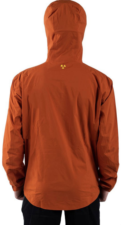 Nukeproof Nirvana Jacket - orange back