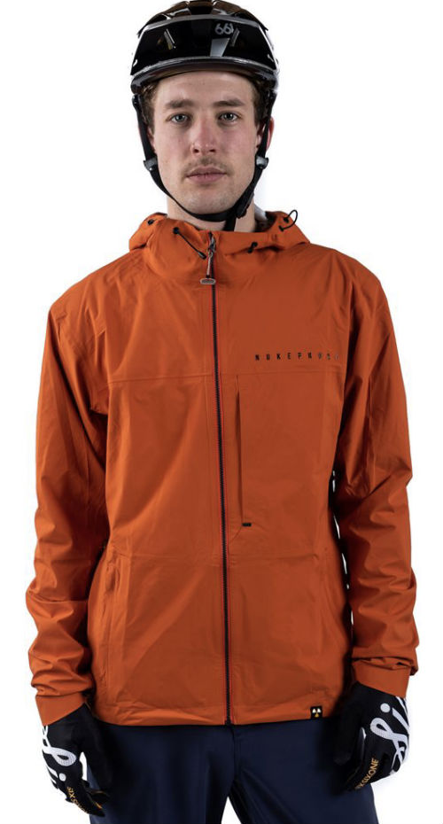 Nukeproof Nirvana Jacket - front orange