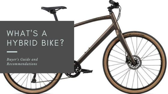 What's A Hybrid Bike? - cover